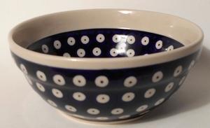 Schöne Schüssel aus Bunzlauer Keramik *5005 Durchmesser 15 cm